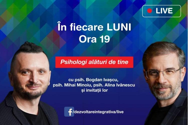 Psihologi alături de tine (Facebook Live)